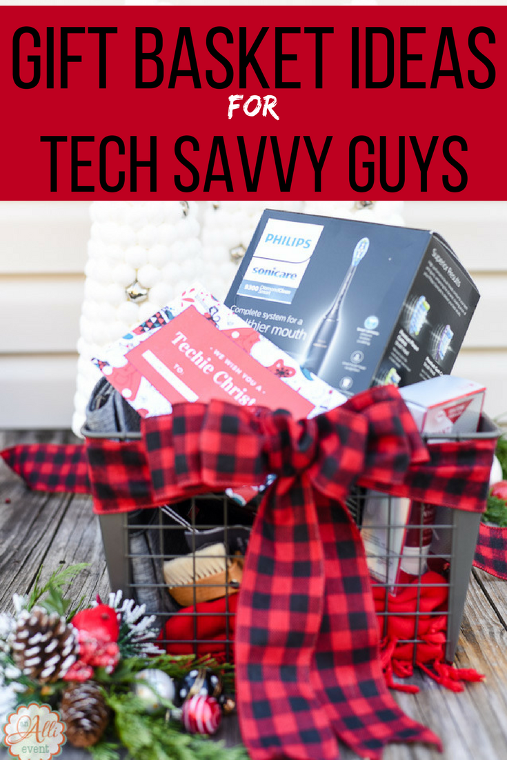 do you have a hard time finding holiday gifts for the tech savvy guy in your life i put together a gift basket that all techies will love