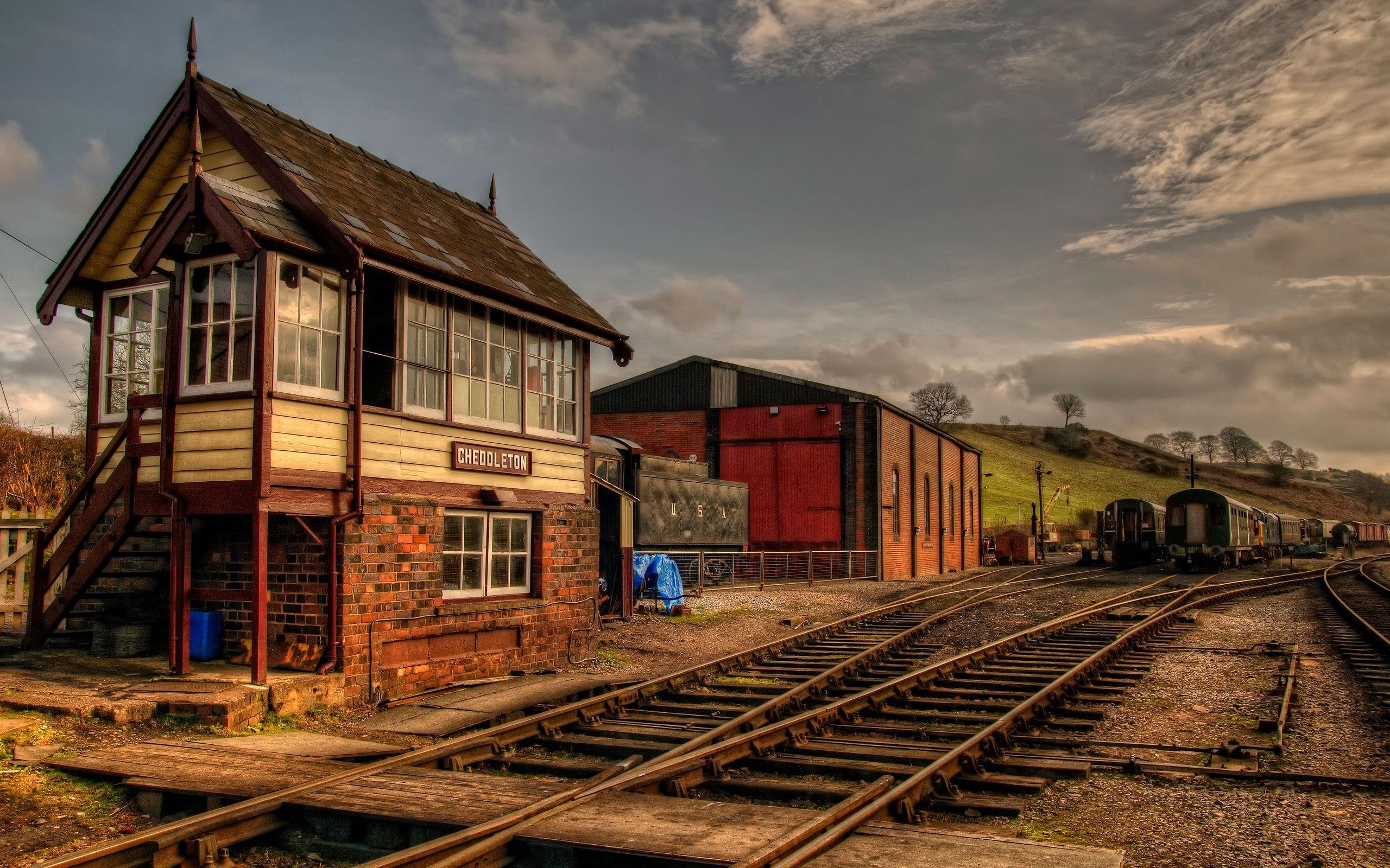 Cute Train Station Background Railway Dioramas Pinterest