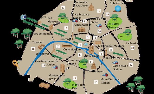 Cartina Parigi Con Quartieri.Quali Sono I Migliori Arrondissements Dove Abitare A Parigi Una Milanese A Parigi Parigi Parigi Mappa Viaggiare A Parigi