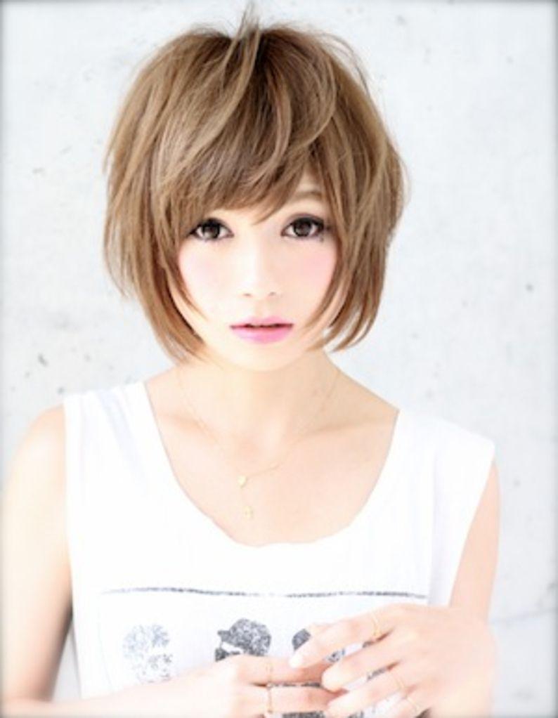 小顔ショートヘア Ke 260 ヘアカタログ 髪型 ヘアスタイル