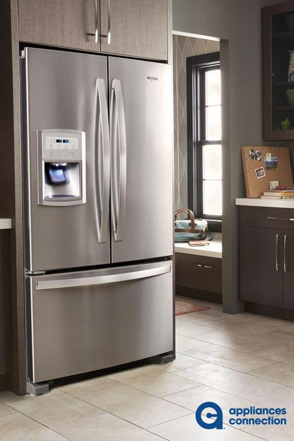 Freestanding Counter Depth French Door Refrigerator From Whirlpool