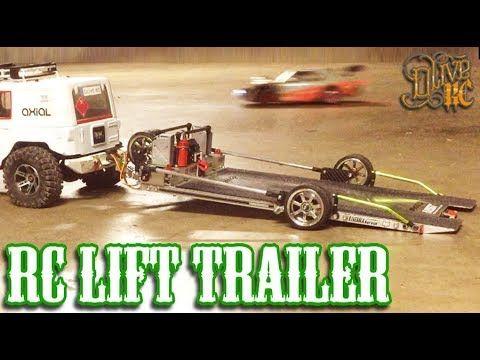 rc 1 10 scale tandem axle trailer build youtube rc car stuff