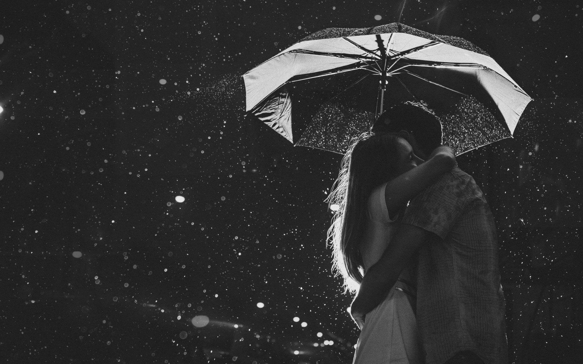 A tight hug in the dark rainy night romantic sad - Tight hug wallpaper ...
