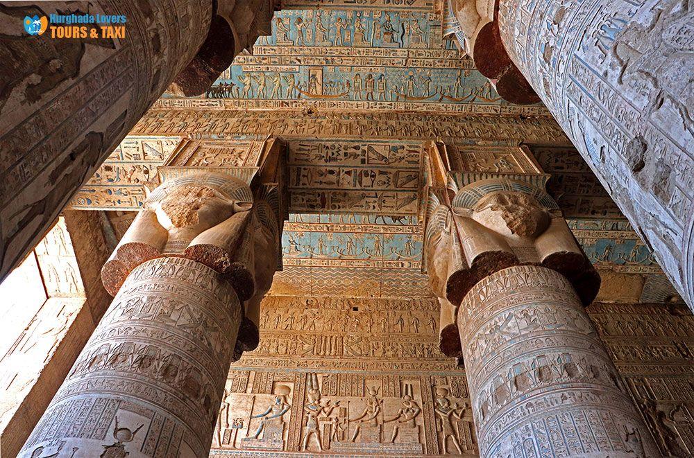 Dendera Temple Complex Egypt Secrets Temple Of The Goddess Hathor In Qena Discover Secrets Reason For Building Hathor Temple Ligh Egypt Travel Egypt Temple