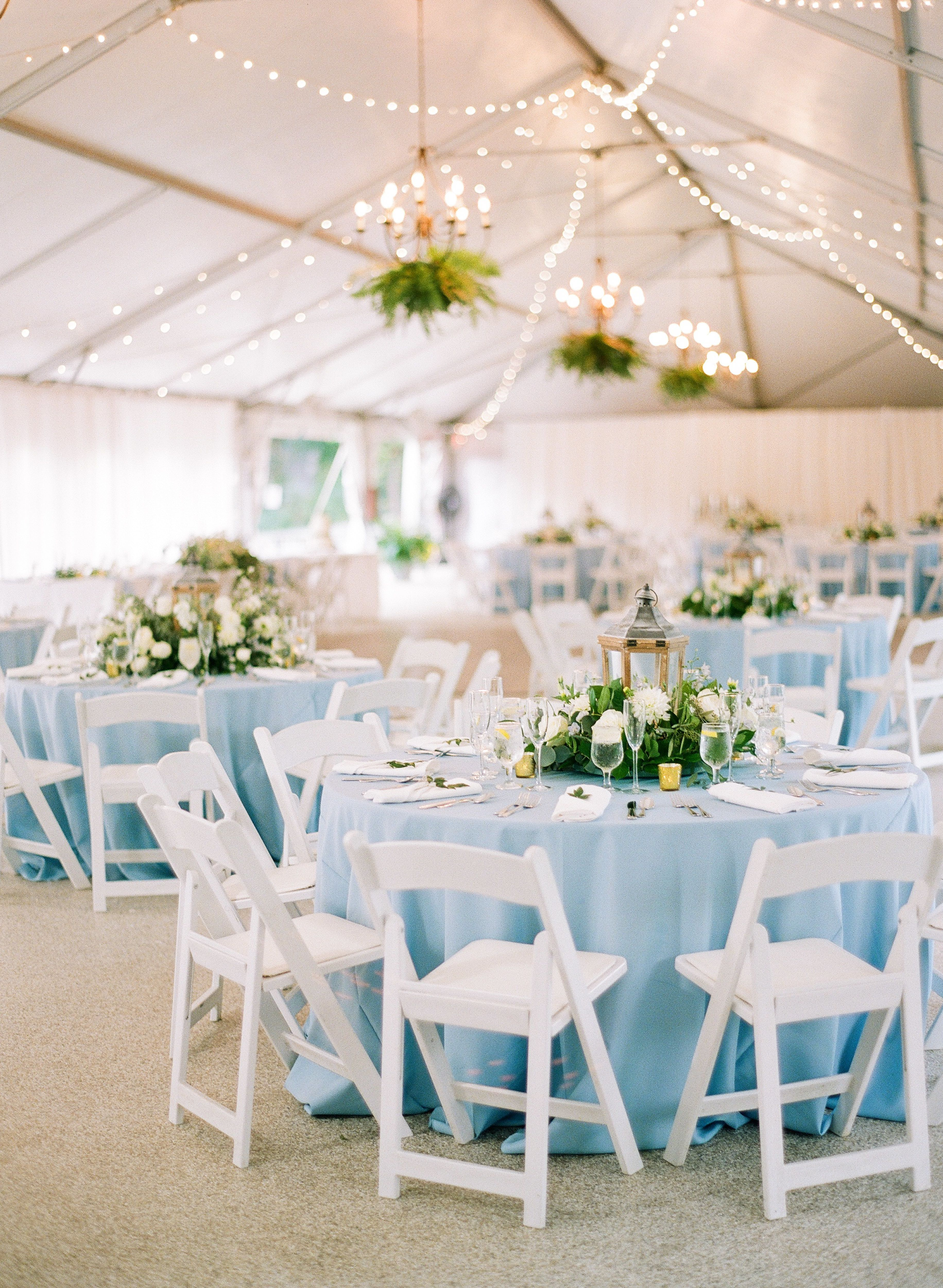 Dusty Blue Garden Wedding At The Rust Manor House In