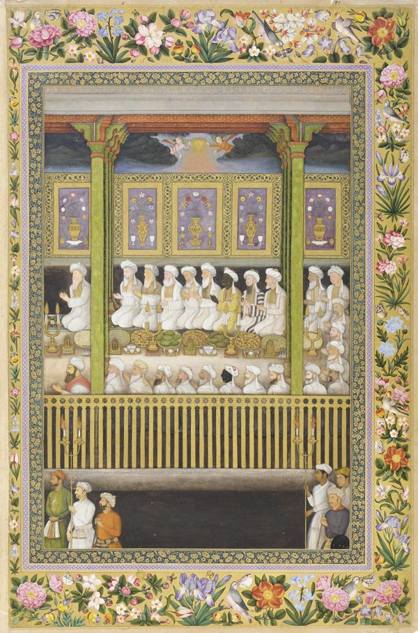 shah jahan honors the religious orthodoxy st petersburg album 1635