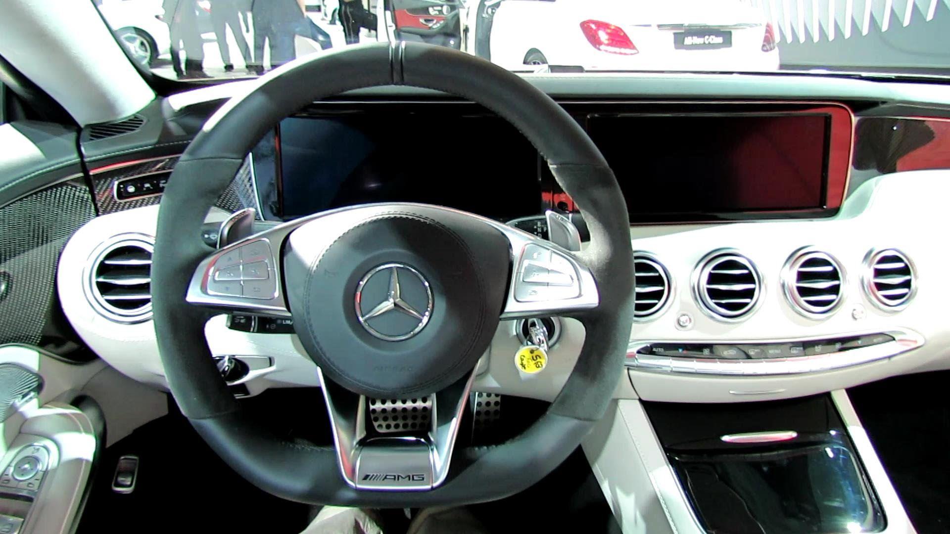 2015 Mercedes Benz S63 Amg Coupe Interior Walkaround 2014 New