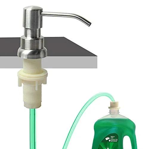 Soap Dispenser For Kitchen Sink Built In Sink Soap Dispenser Furniturev Com Sink Soap Dispenser Soap Dispenser Soap Pump Dispenser