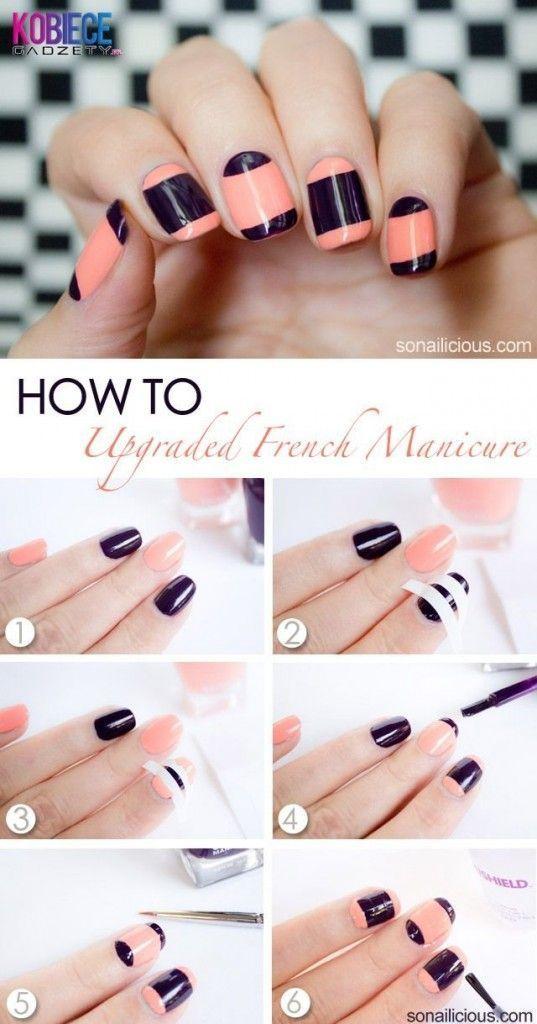 15 tutoriales sencillos para decorar tus u as para principiantes u as pinterest manicura - Tutoriales de decoracion ...