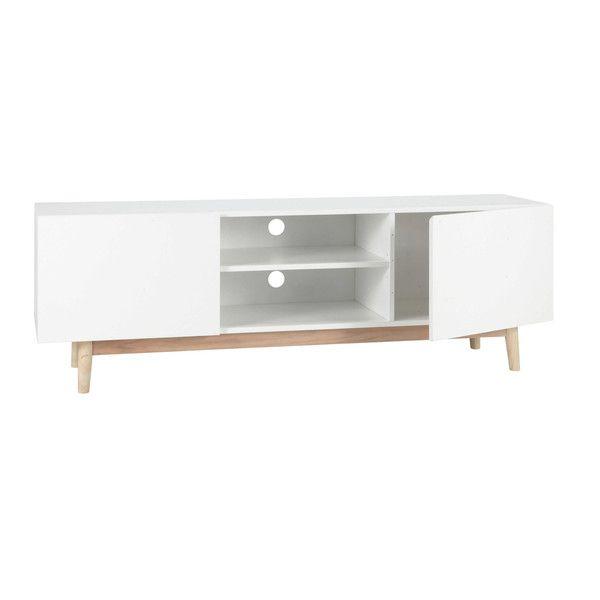 tv lowboard im vintage stil wei stilvoll wohnen. Black Bedroom Furniture Sets. Home Design Ideas