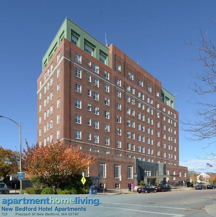 New Bedford Hotel 725 Pleasant Street Downtown Completed In 1921 Closed 1969 And Reopened 1973 As Elderly Housing