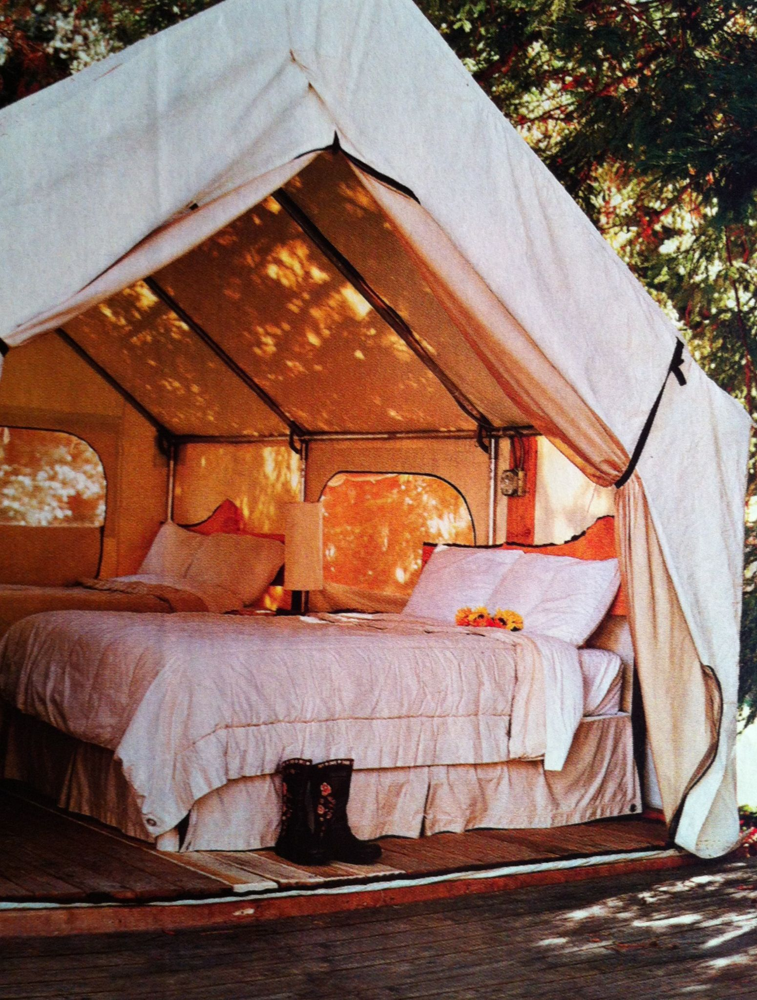 Wall Tent Ideas For Nice Camping