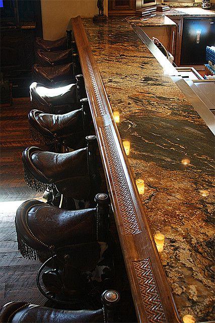 Rec Room Bar Designs: Western Homes, House, Western Decor