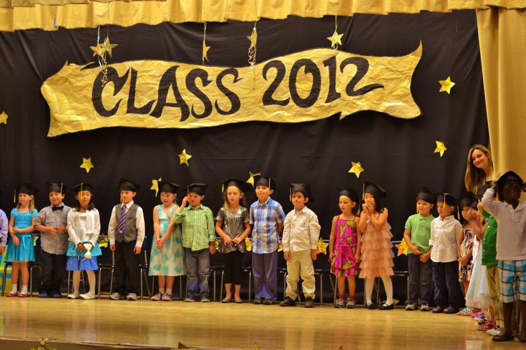 Preschool graduation ceremony christmas crafts - Kindergarten graduation decorations ...