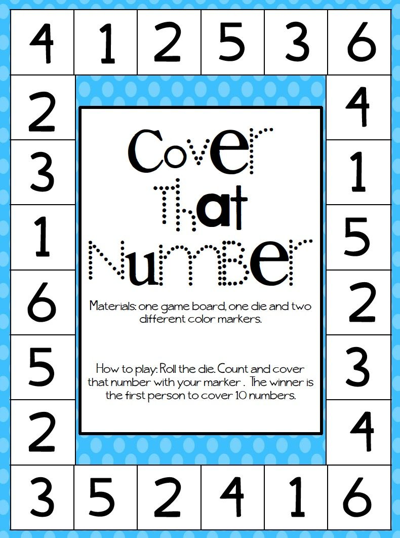 Pin by Barbara Puffinbarger on Numbers Numbers preschool