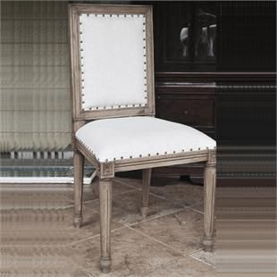 French Country Dining Chairs   Solid Wood Chairs   Antique Chairs