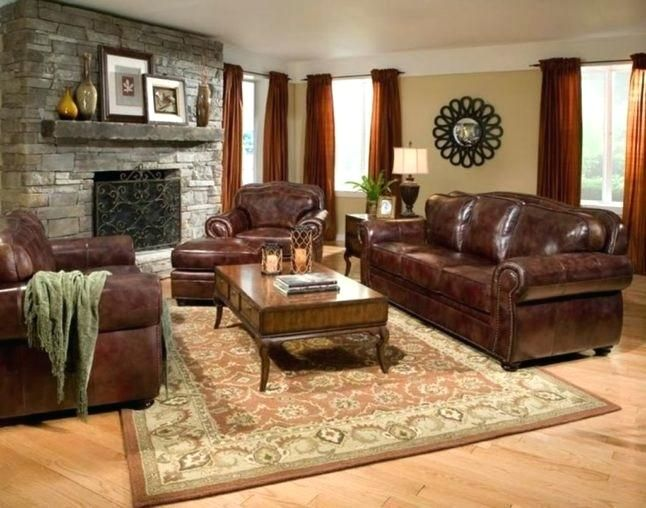Wandfarbe Fur Braune Mobel Dekoration Ideen Leather Living Room Furniture Brown Leather Couch Living Room Leather Couches Living Room Brown leather couch living room