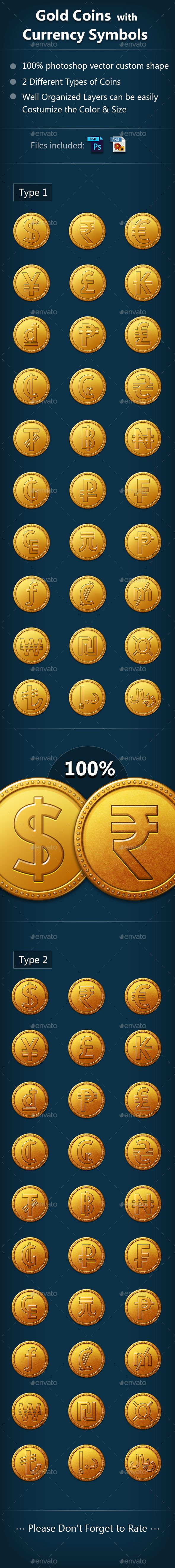 Gold Coin With Currency Symbols Pinterest Currency Symbol Icons