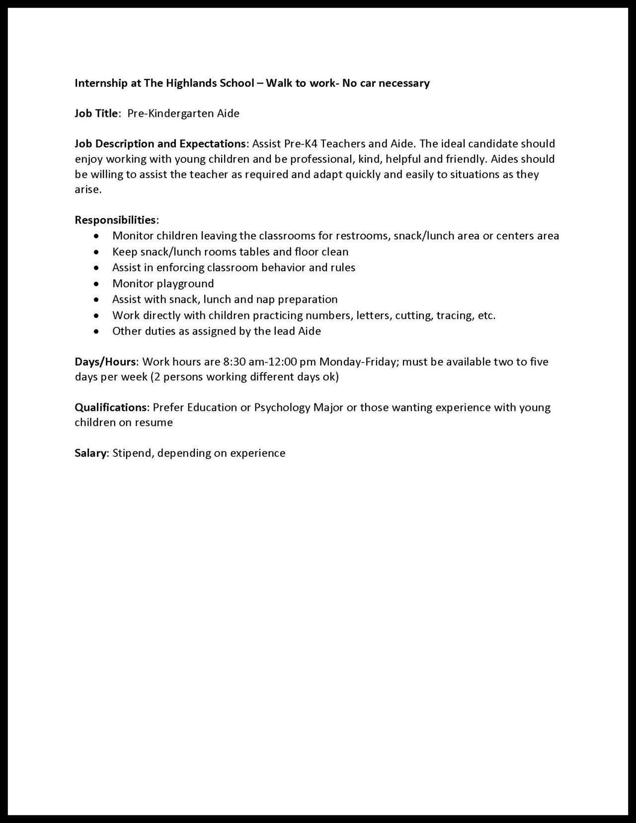 Udcs The Crimson Paper Fastener Uofdallas Internships Available At The Highlands Internship Career Development Job
