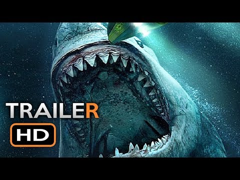 (42) THE MEG International Trailer 2 (2018) Jason Statham