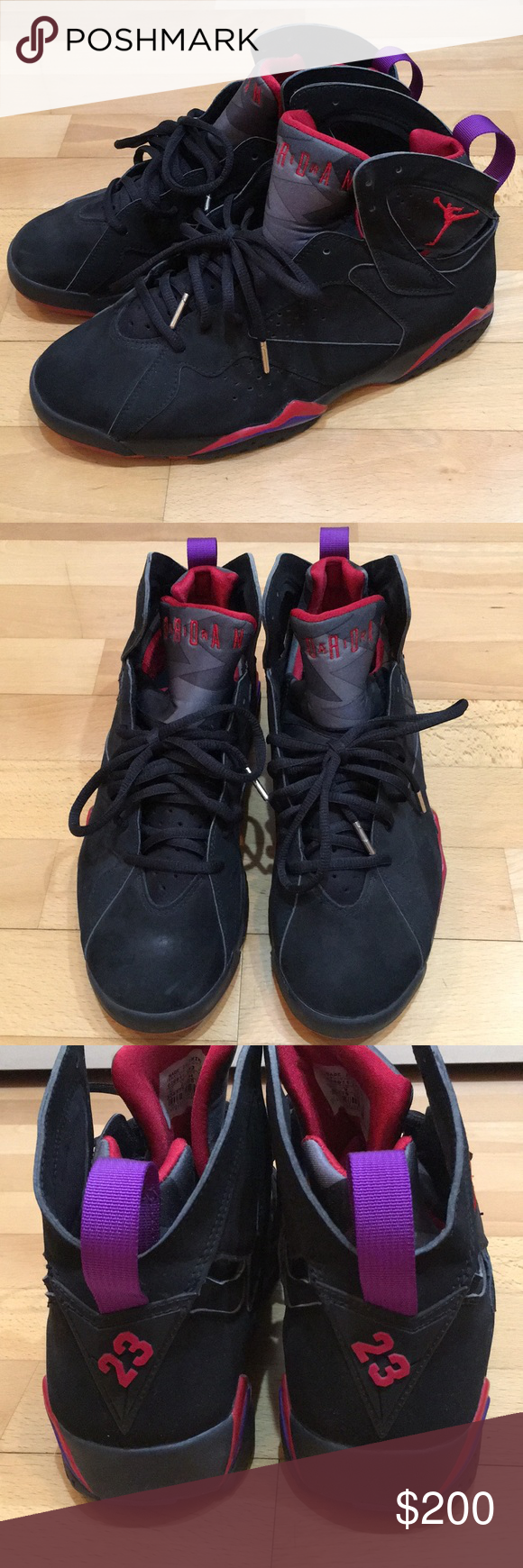 fb7461d59c63 Air Jordan 7 Raptors 2002 Gently used. No trades. Comes with replacement  box.