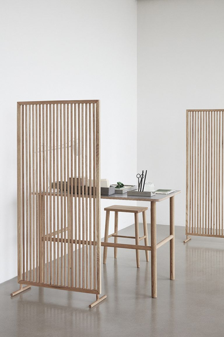 Inexpensive Room Separators Exit Coper: Wood Slat Trend (With Images)