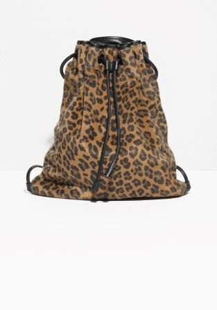 33fe005c7810 Faux Fur Backpack