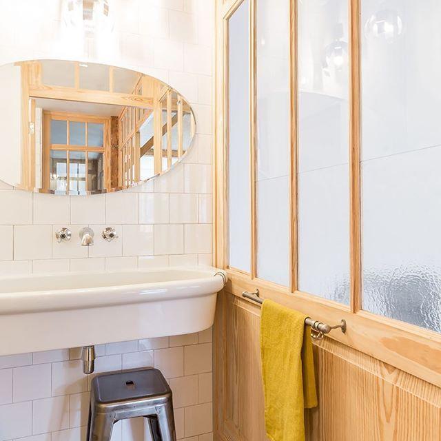 Details salle de bain / bathroom details by Atelier Marika Chaumet