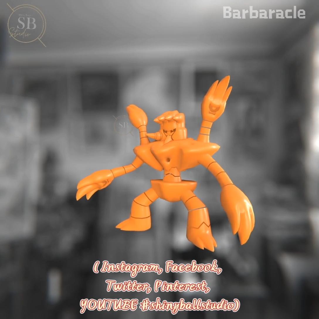 13+ Barbaracle shiny info