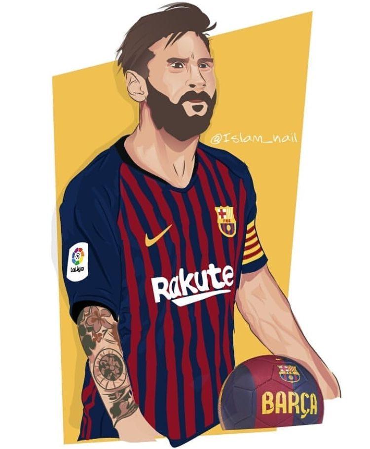 Pin De Hariom Rajgor Hr Em Barcelona Futebol Arte Futebol Desenhos