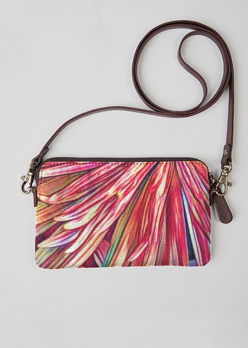 VIDA Leather Statement Clutch - SUNSET II by VIDA rUoFYMEJ