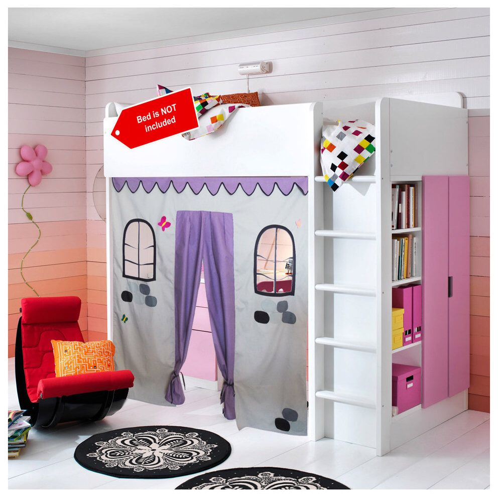 Bunk bed Playhouse / Bed tent / Loft bed curtain free