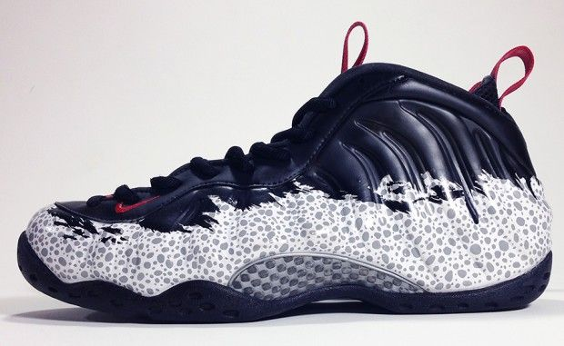 "sale retailer 6d697 5b1fc Nike Air Foamposite One ""Safari"" Custom"