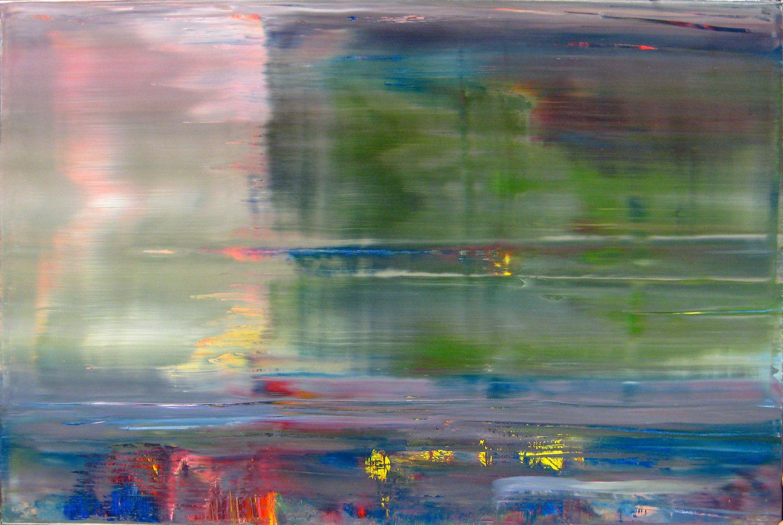 gerhard richter abstraktes bild abstract painting 2001 c albertina wien dauerleihgabe abstrakt abstrakte bilder postmoderne kunst groß acryl gemälde