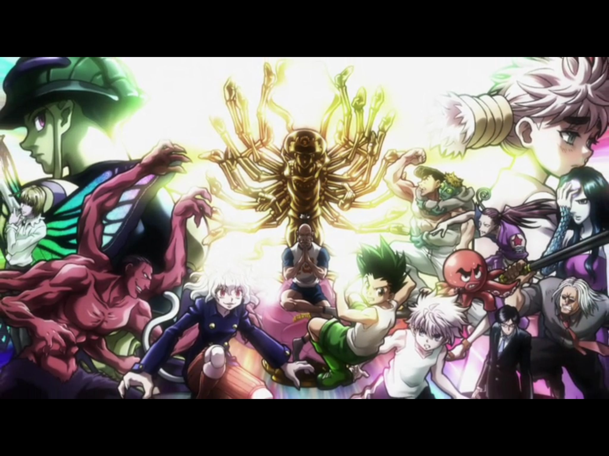 So amazing (With images) Hunter x hunter, Hunter, Anime