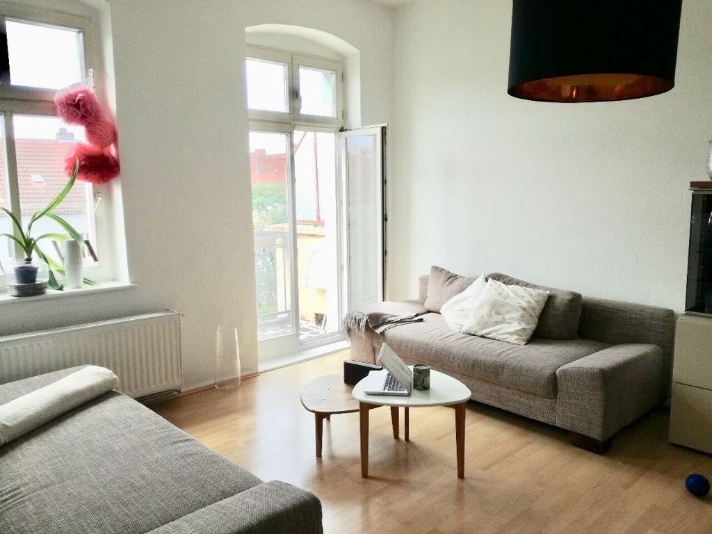 Ein Wohnzimmer Traum. Die Wohnung in Berlin liegt im