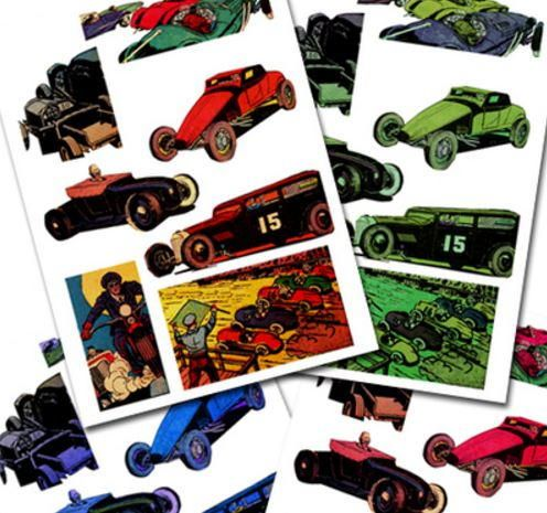 Free Printable Vintage Car Designs | Printable paper crafts that can be used for scrapbooking, card making, and many other crafting projects.