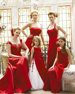 Bridesmaid Dresses Same Fabric Diffe Styles 3