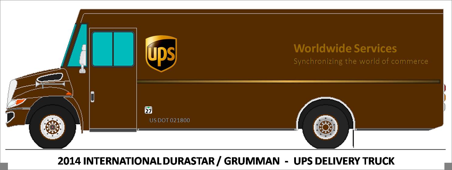 ups truck clipart [ 1489 x 562 Pixel ]