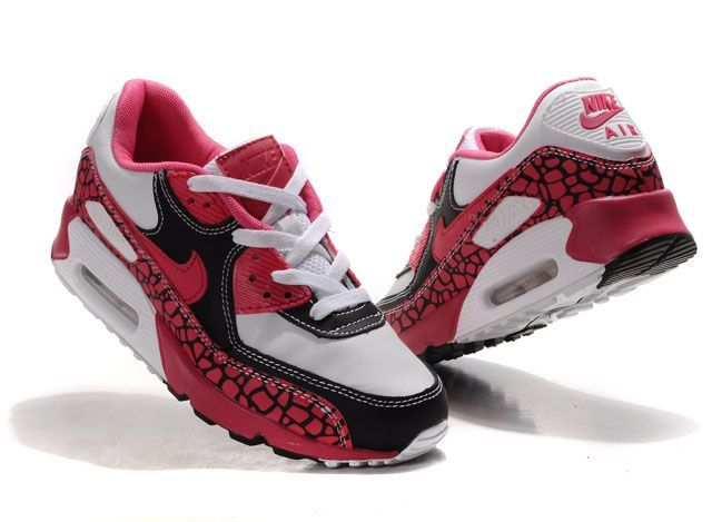 nike air max chaussures de tennis de la cour mondiale - Discount Nike Air Max 90 Women Running Shoes Wine Red Gold | Nike ...