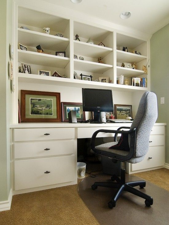 Built In Home Office Home Office Built In Desk Design Pictures