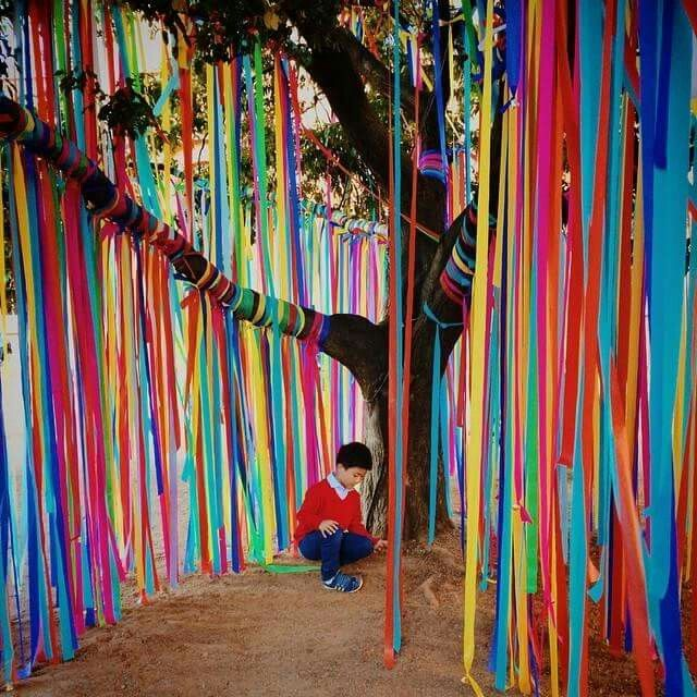 Classroom Decoration Ideas Fort Worth ~ Ribbon tree art playground outdoor play