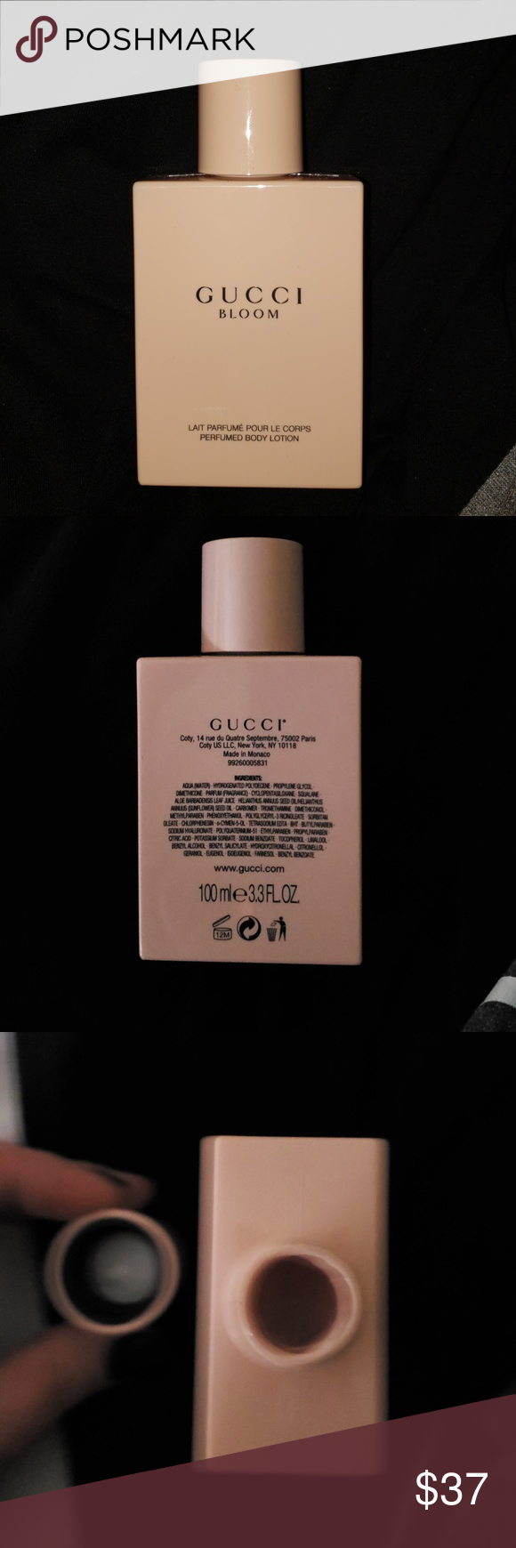 Gucci Brand New Bloom 100ml 3 3 Fl Oz Gucci Brand Body Lotion Brands Gucci