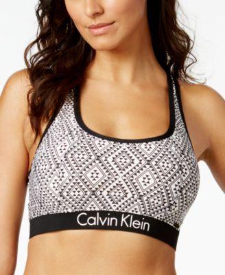 CALVIN KLEIN Calvin Klein Printed Racerback Bikini Top.  calvinklein  cloth    swimwear cdb83eeae