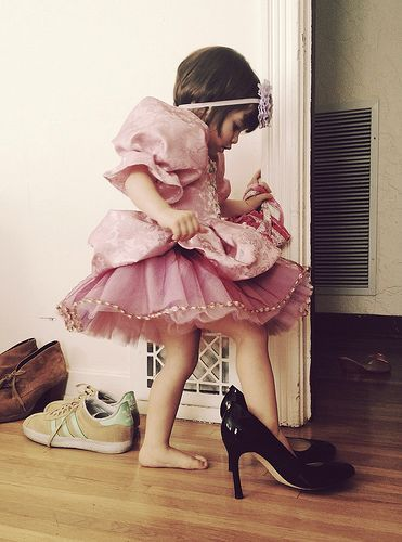 Image result for little girls playing dress up