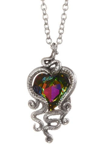 Heart of cthulhu octopus pendant necklace 8200 at shopplasticland heart of cthulhu octopus pendant necklace 8200 at shopplasticland click to buy aloadofball Images