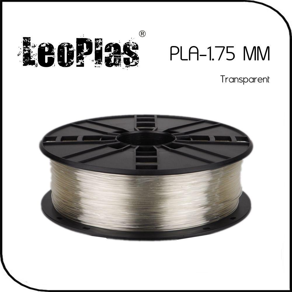 28.7US $ 30% OFF|LeoPlas 1kg 1.75mm Translucent Transparent Clear PLA Filament For 3D Printer Pen Consumables Printing Supplies Plastic Material|pla filament|transparent filamentpla 1.75 filament - AliExpress