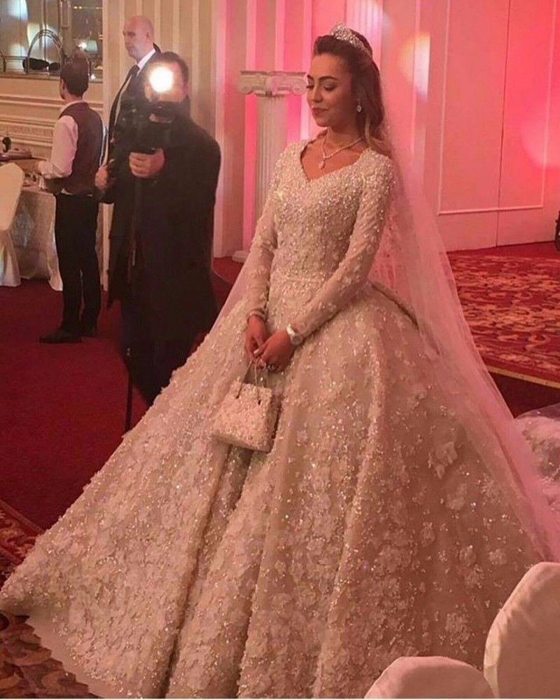 Custom Long Sleeve Wedding Dresses By Darius Bridal Couture - Custom Wedding Dress Designers