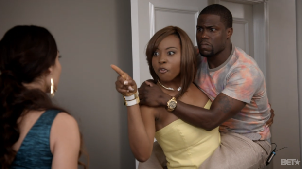 I Cannot Stop Laughing At Angell Conwell Holding Kevin Hart On Her