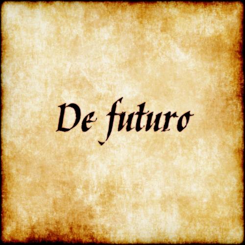 De futuro - Regarding the future.  #latin #phrase #quote #quotes - Follow us at facebook.com/LatinQuotesPhrases